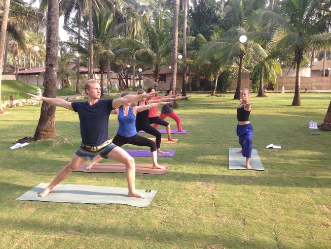 8 Days Yoga Retreat in Goa, India