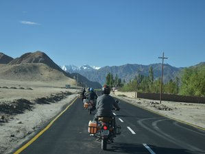 12 Day Manali to Leh Indian Himalayas Guided Motorcycle Tours in India