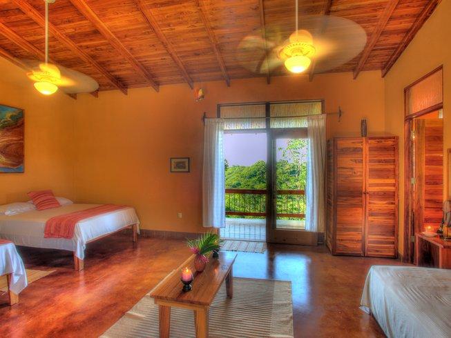 7 jours en stage de yoga lignes énergétiques dans le sable à Guanacaste, Costa Rica