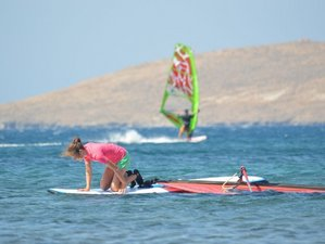 8 Tage Anfänger-Windsurfcamps in Sigri, Griechenland