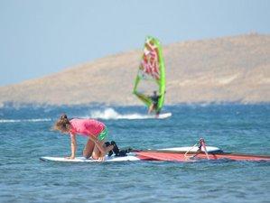 8 Day Beginner Windsurf Camps in Sigri, North Aegean