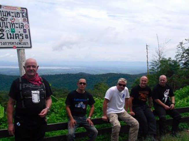 5 Days True Bikers Motorcycle Tour in Thailand