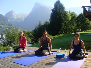 4 jours en stage de yoga de luxe à Samoens, France