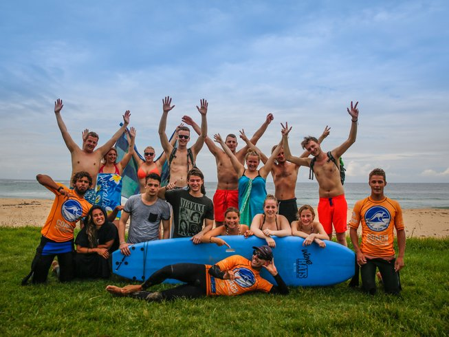 14 Days Surf Camp in New South Wales, Australia