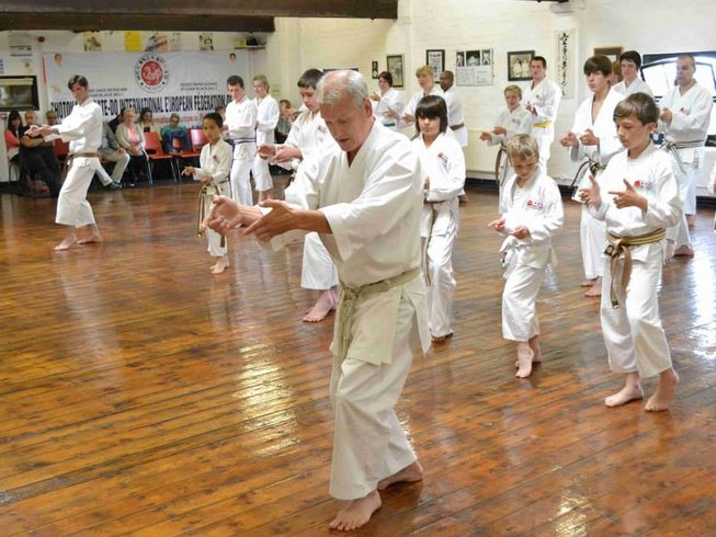 3 Days Weekend Specialized Karate Camp in England, UK