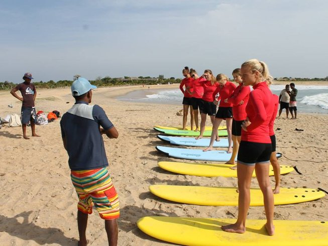 7 Days Wellness and  Surf Holiday in Sri Lanka