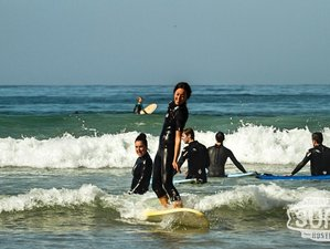 8 Day Learn How to Surf for Beginners and Practice Yoga in Taghazout, Agadir