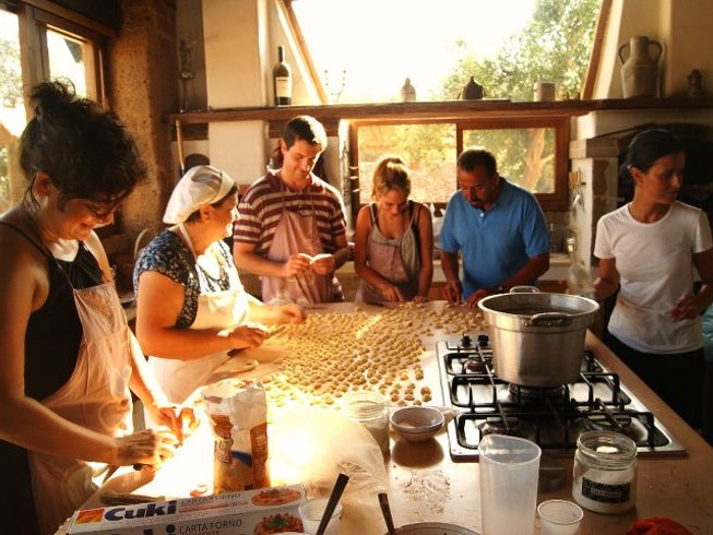 2 Days Happy Hour and Cooking Holiday in Italy