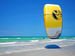 5 Days Breathtaking Kitesurf Lessons in Playa del Carmen, Mexico