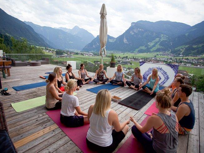 5 Tage Berg Yoga Urlaub in Ginzling, Österreich