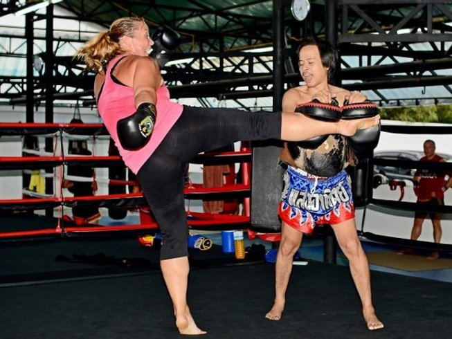 28 Days Weight Loss and Muay Thai Camp Thailand