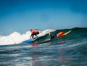 15 Days Premium White Waves Surf Camp in Ericeira, Lisbon Area, Portugal