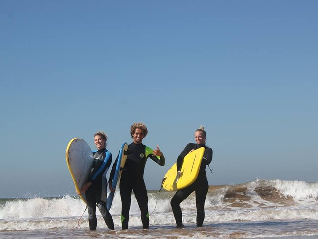 8 Days Pro Surf Coaching Beginners and Intermediate Surfers Agadir, Morocco