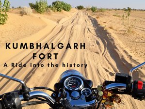 7 Day Kumbhalgarh Fort Guided Motorcycle Tour in India