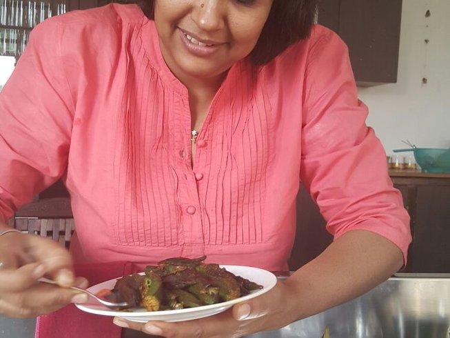 5 Days Cooking, Elephant Joy & Yoga Holidays India