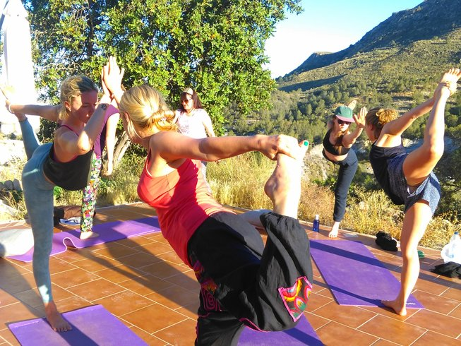 7 Days Hatha and Restorative Yoga Retreat in Murcia, Spain