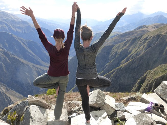 5 Days Yoga and Vegetarian Culinary Holidays in Peru