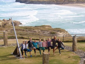 4 Day Relaxing and Revitalising Walking Yoga Holiday in Cornwall, UK