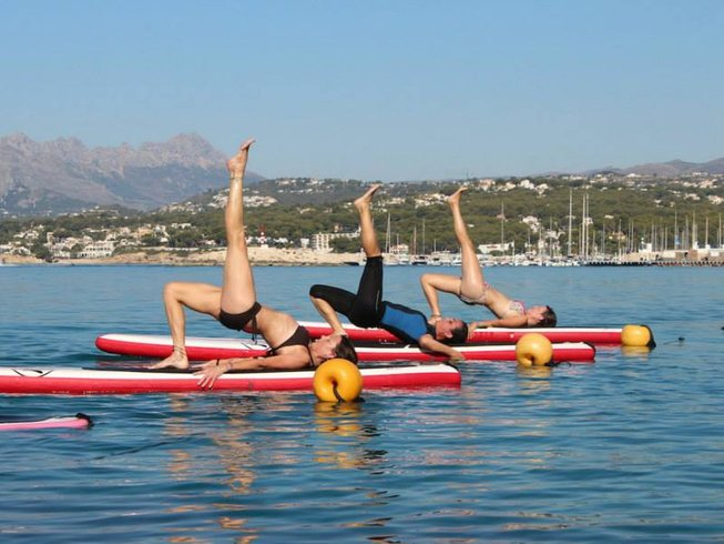 5 Days Yoga, SUP & Snorkeling in Alicante, Spain