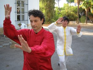 3 Days Tai Chi, Qi Gong 40.000 sqm Ranch in Andalusia, Spain - June Special offer 20% OFF with Pool!
