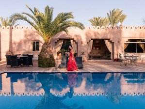 4 Days Meditation and Yoga Retreat in the Authentic Heart of the Marrakech Palm Grove, Morocco