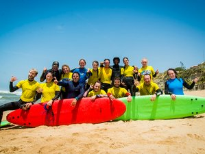 7 Day Yoga and All Levels Surf Camp in Ericeira, Mafra