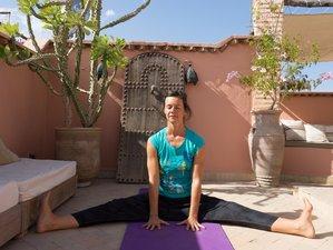 4 jours en stage de yoga et culture à Marrakech, Maroc