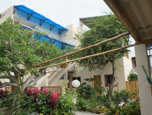 Surfers' Accommodation Only During Holiday Weeks in Olon, Santa Elena