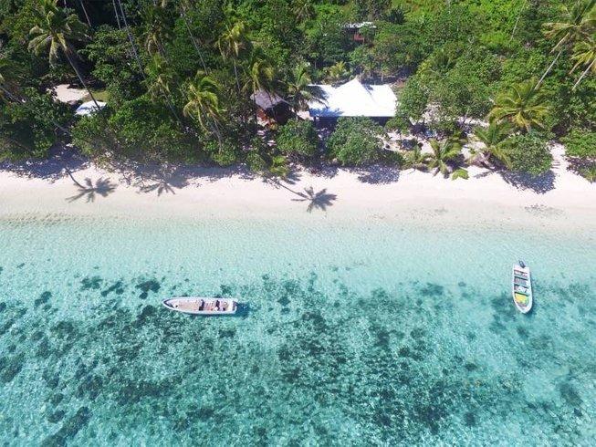 6 Days Beginner Fiji Surf Camp