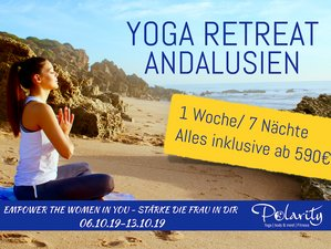 8 Days Yoga Retreat in Andalusia - Empower the Woman in You in Cadiz, Spain
