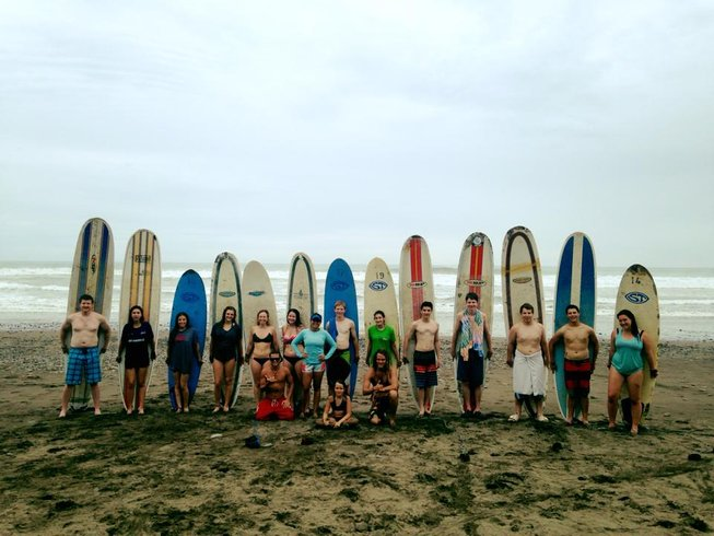 7 Days Beginners Surf Camp Costa Rica
