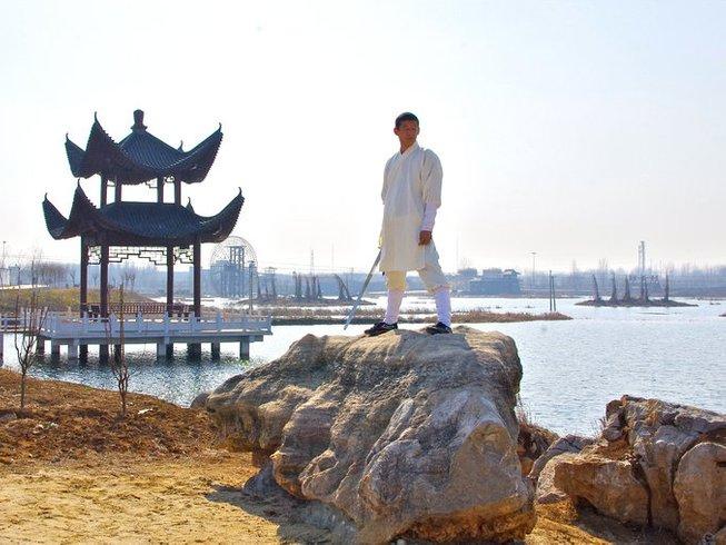 1 Month Shaolin Wushu Kung Fu Training in Tengzhou, China