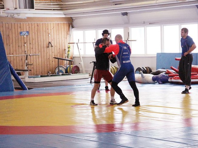 1 Month Wrestling Training in Finland