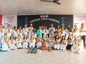 28 Day 200 Hour Multi Style Yoga Teacher Training in Rishikesh