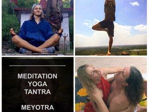 4 days samadhi Meditation, tantra yoga and fasting in Rishikesh, India