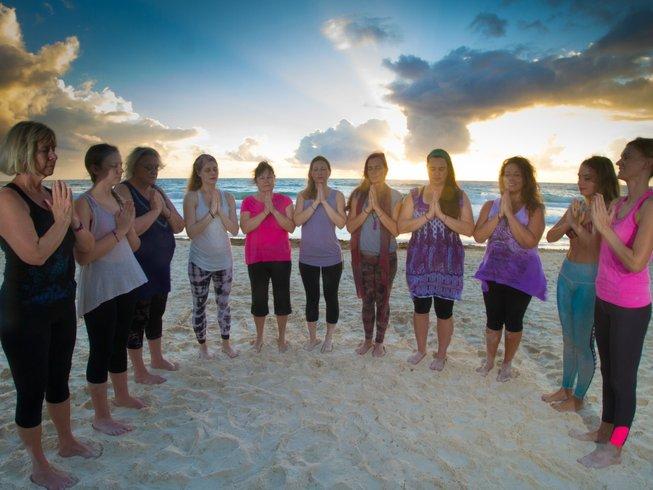 6 Tage Die Kunst des Stressfreien Lebens Yoga Urlaub in Tulum, Mexiko