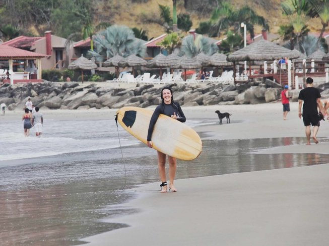 10 Days Surf Camp and Yoga Retreat in Ecuador