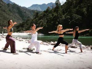 26 Days Cross Your Limits 200-Hour Yoga Teacher Training in Rishikesh, India