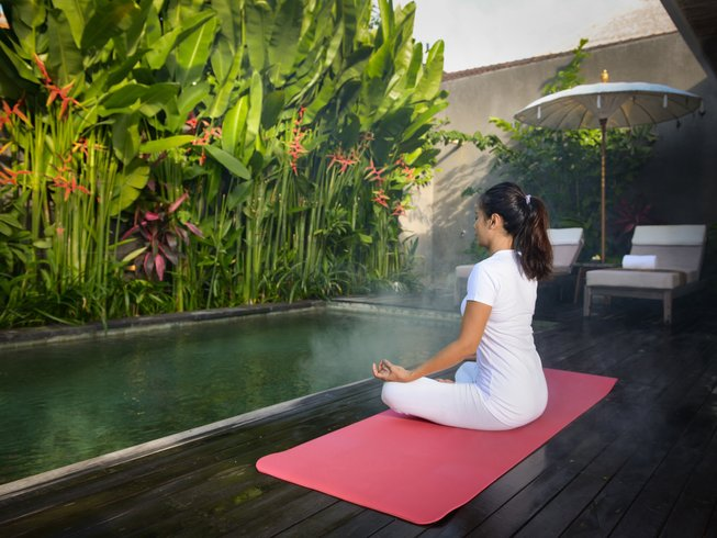 4 Days Relaxing Cycling and Yoga Retreat Bali