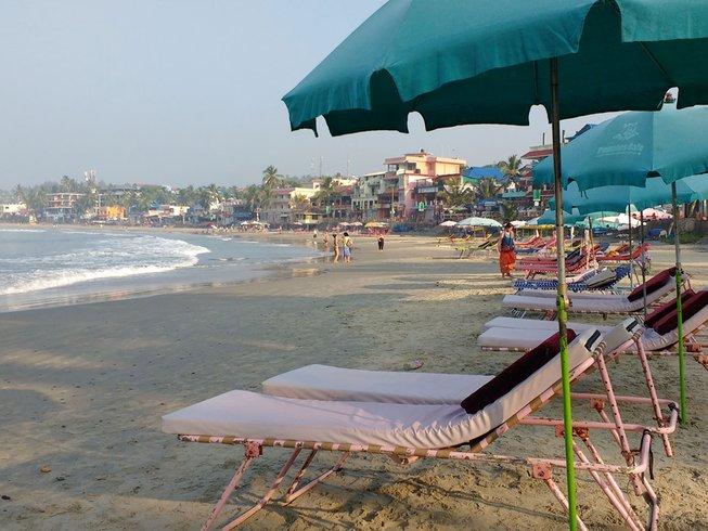 7 Tage Radfahren und Yoga Urlaub am Strand in Indien