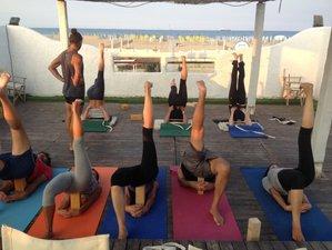 7 Days Iyengar Yoga Beach Retreat with Certified Teachers in Gokarna, India