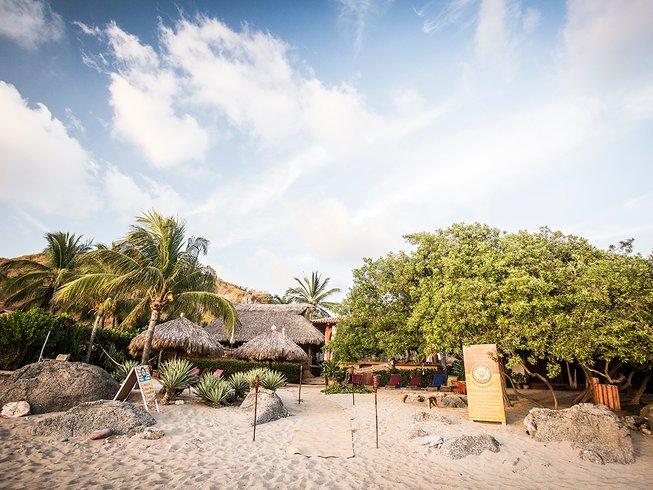 8 Tage Surf und Yoga Urlaub in Playa Troncones, Mexiko