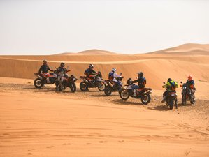 7 Days Treasures of the Atlas at the Gates of the Desert Guided Motorcycle Tour in Morocco