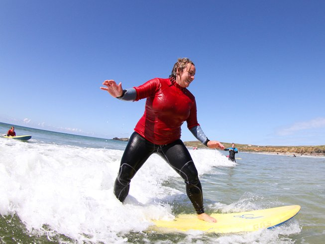 4 Days Hotdogger Surf Camp in Cornwall, South West England, UK