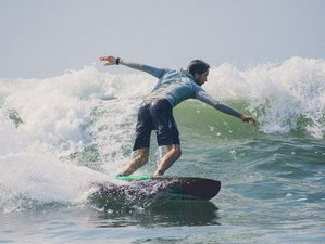 4 Day Beginners Surf Camp with Fun Surfing Lessons in Ashwem, Goa