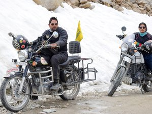 13 Day Ladakh Himalayan Adventure: Guided Motorcycle Tour on Mountain Roads in India