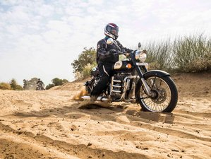 12 Day Rajasthan and Taj Mahal Guided Motorcycle Tour in India