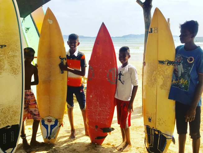 7 Days Wildcrafted Surf and Yoga in Weligama, Sri Lanka