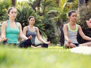 Week-end de méditation et yoga au Mas de la plume dans l'Hérault, Occitanie
