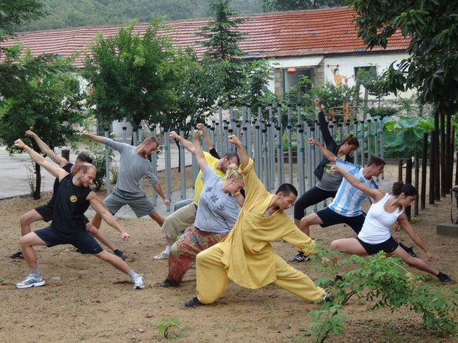 4 Months Kung Fu School Training in China at Songshan